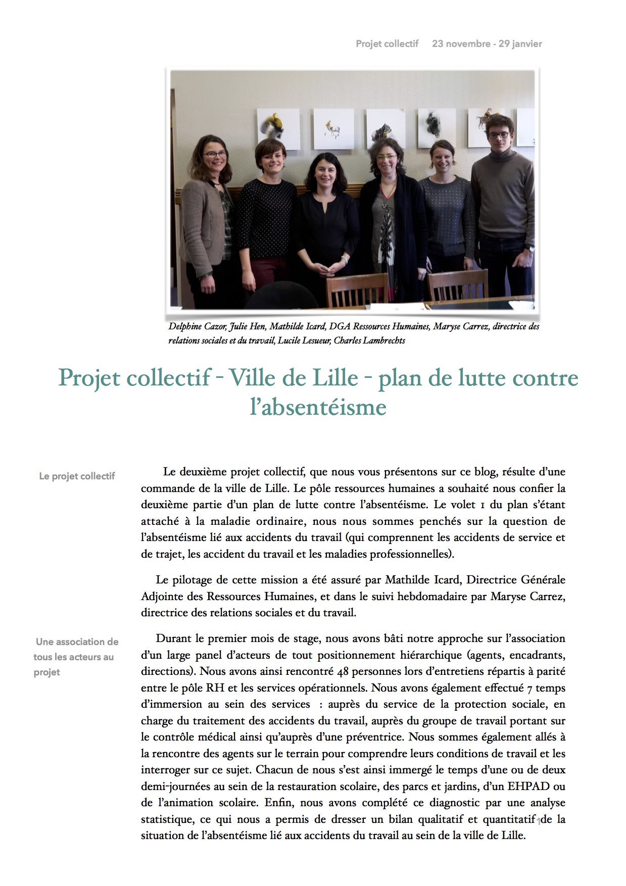 Article PCO - LILLE