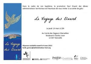 Invitation soirée de gala 14 mars 2013