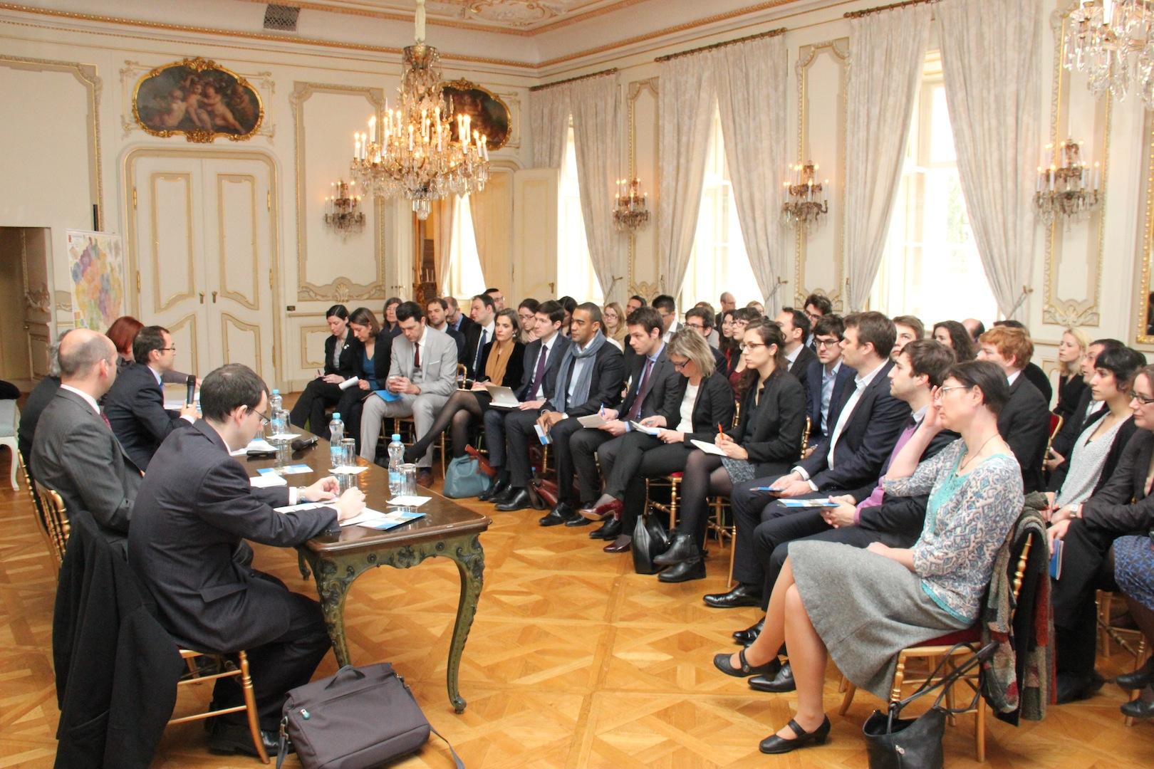 Retour sur la visite de la promo Vaclav Havel à l'ambassade de France en République Tchèque