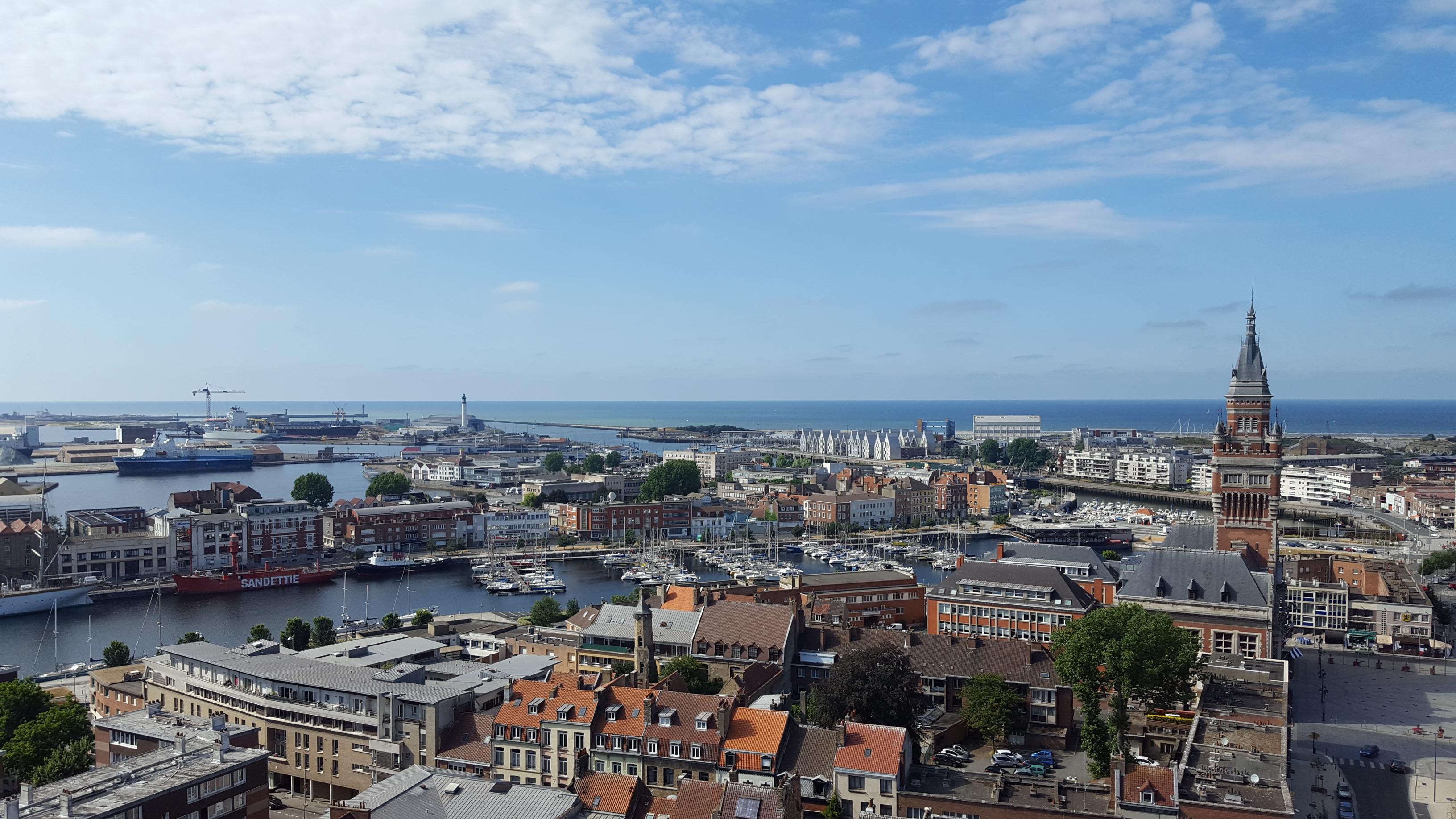 Dunkerque, une ville maritime du Nord en pleine transition